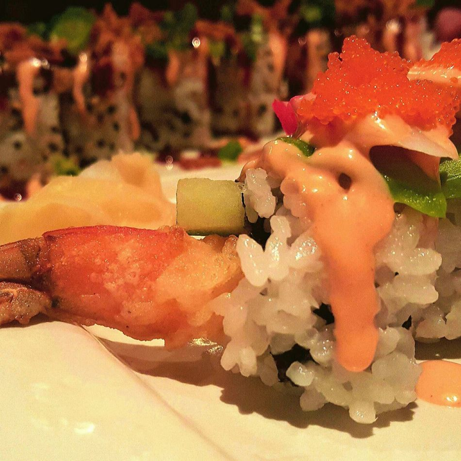 Sushi in Japanese Restaurant First Eyeem Photo