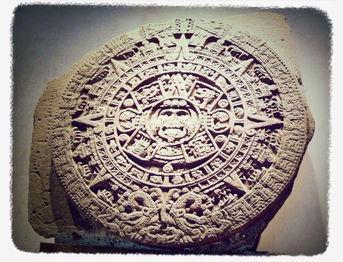 Calendario Azteca Aztec Calendar Ciudad De México Museo De Antropologia