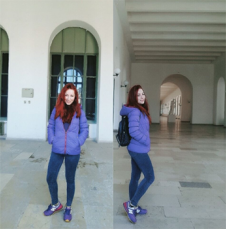 Iyigeceler Picoftheday Streetphotography Beauty Pretty Selfie ✌ Beautiful Redhair Pictureoftheday Self Portrait Photography Fashion&love&beauty Pretty Girl Myself Purple Taşkışla Itu1773 Shcool Life Goodnight