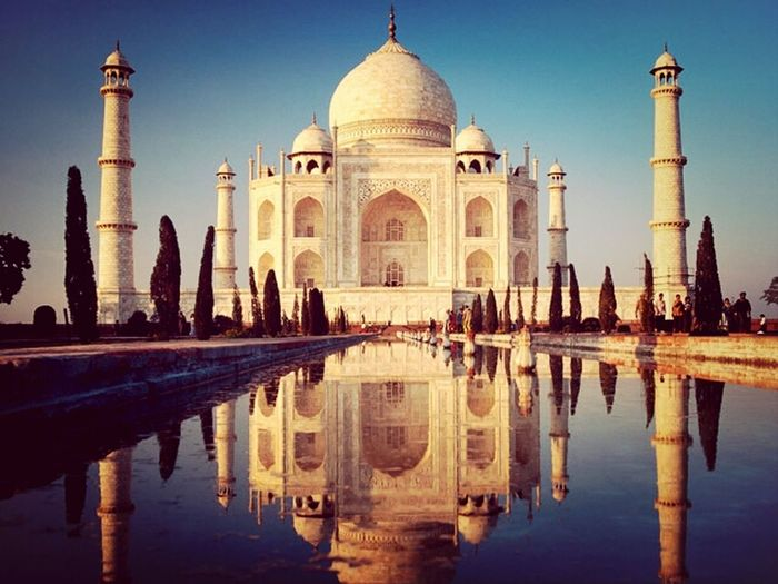 Image Beautiful Place Water Reflection India it's really beautiful , i hope to travel in India !!!