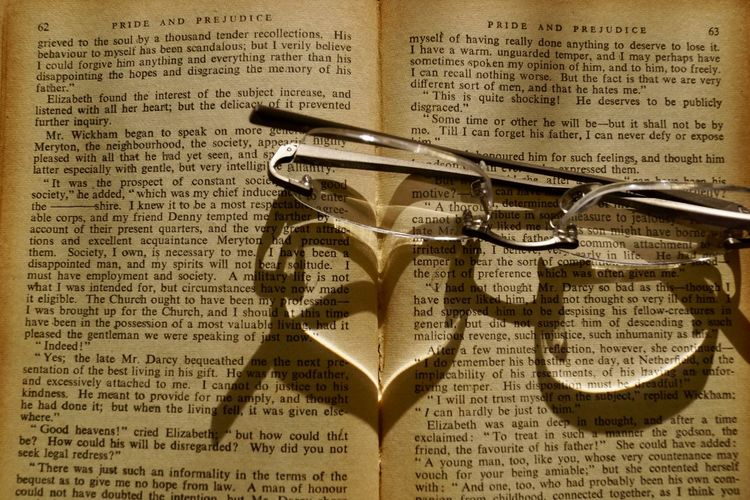 Love story. Book Books Close-up Communication Day Eyeglasses  Indoors  Love Story No People Paper Shadows Specs Text First Eyeem Photo