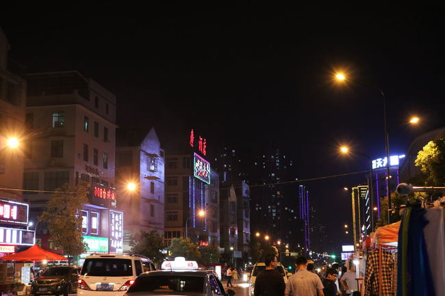 Architecture Building Built Structure Changsha Changsha,China China City City Life City Life City Street Hunan Hunan Changsha Hunan Province, China Illuminated Lighting Equipment Modern Night Outdoors Sky Street Light Tall - High Traffic Travel Destinations