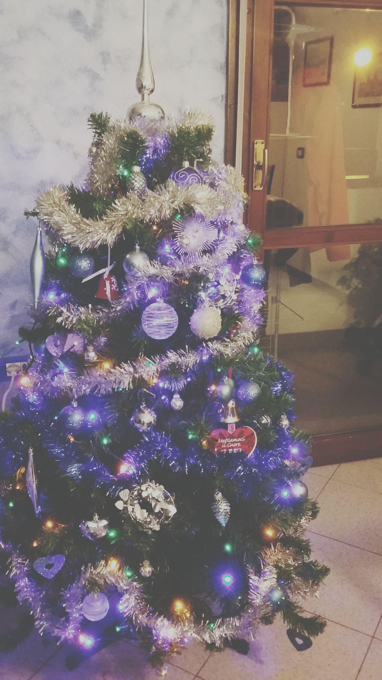 Happychristmas Christmas Tree Pallinecolorate Piccolelucine Natale2015 Buon Natale Freddo Polare!😆 Freddocaneancheseceilsole