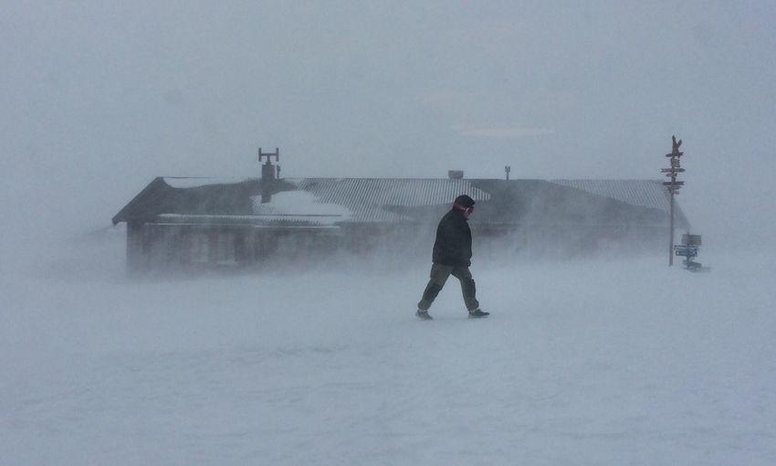 Storm Wind Blizzard