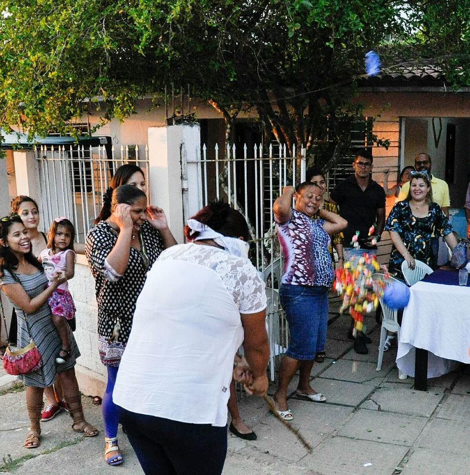 Piñata Women Outdoors People Adult Day pichorra