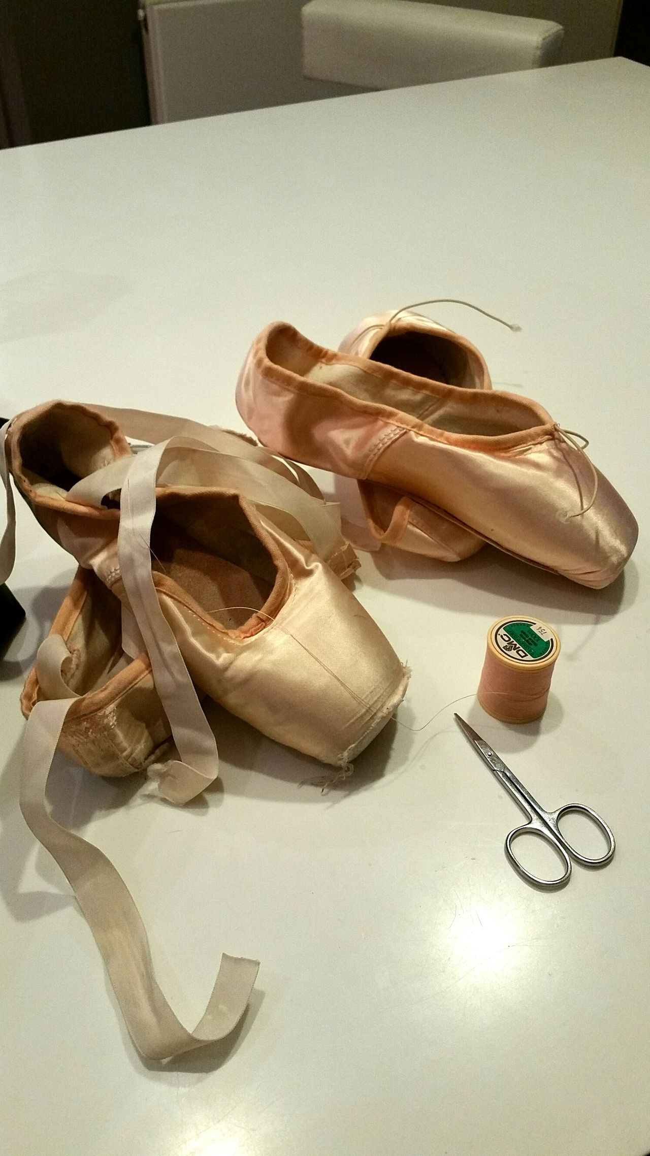 No People Shoe Pair Indoors  No People Close-up Day Ballerina Pointe Shoes Danse Classique Adult Paris France Pink Classic Elegance Classical Music Classic Classic Style Dance Classica