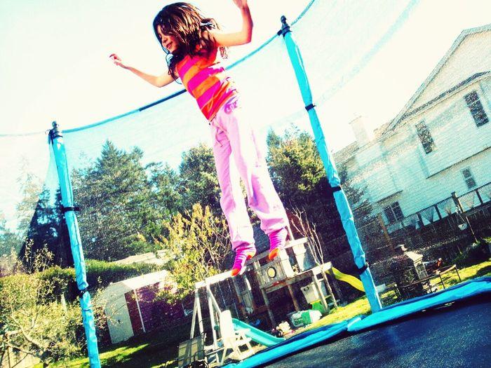 JAMPIN' Jamp! Trampoline Girl