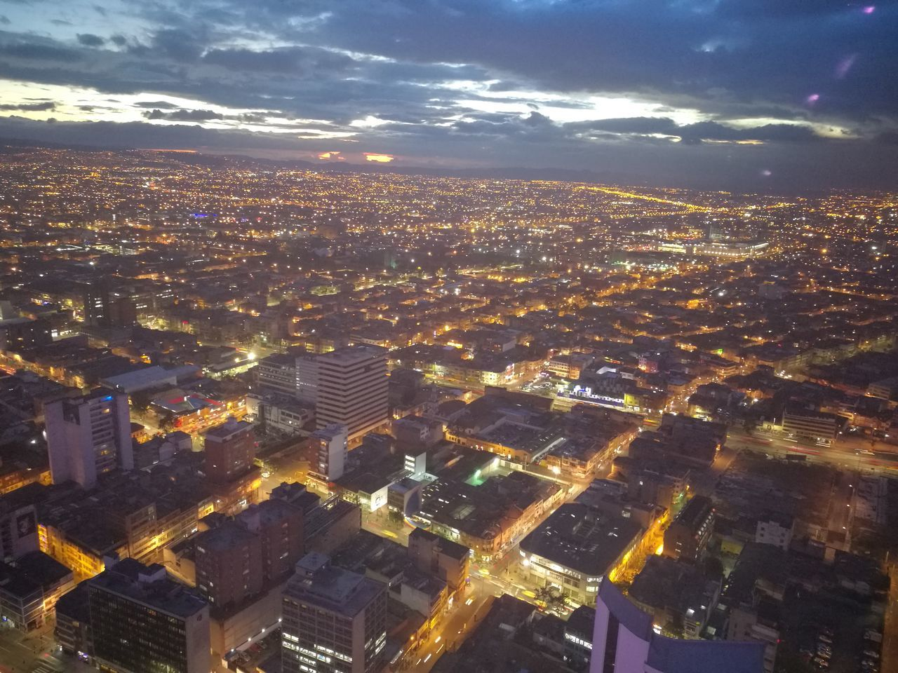 Bogotá nocturna First Eyeem Photo