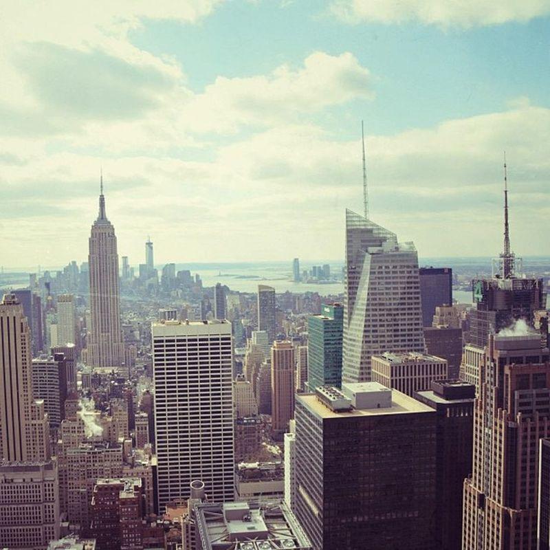 Manhattan Newyork Topoftherock Rockefellercenter Empire WTC Island Love Honeymoon Photography Art Me Paint Effect Filter