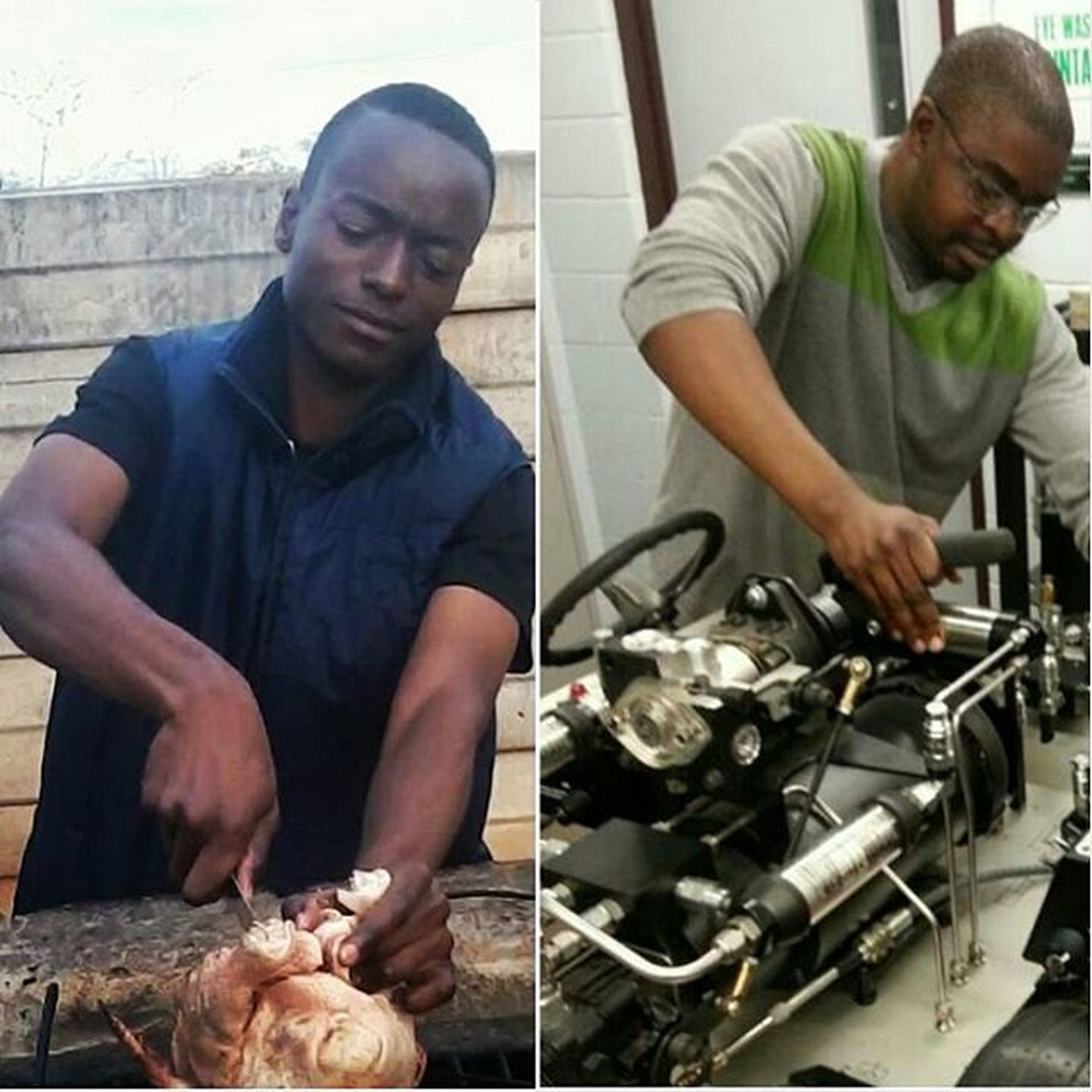Big bro's lessons on engineering put to good use😬Operatin Chicken SeriousBusiness Braii Actlikeyouknow