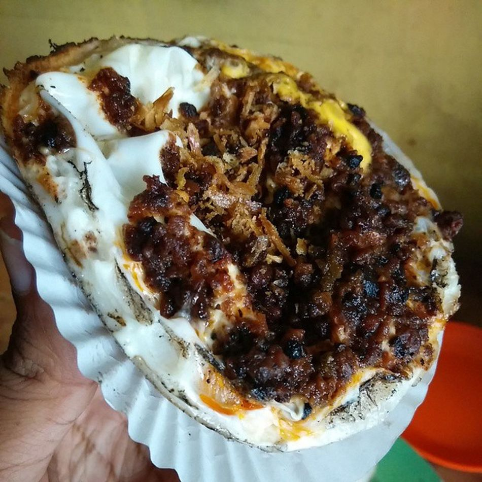 Serabi telor oncom khas Jawabarat Kuningan Kulinerindonesia Gadgetlicious