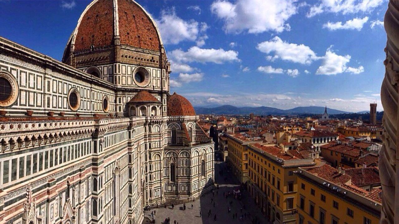Take a deep breathe and look Florence Italy Firenze Duomo Di Firenze Experiencing Places Aroundtheworld On Top Of The World Holiday Lovely Place Mycountry Art Everywhere