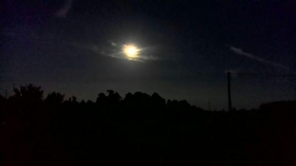 The Moon Dark Sky Nature