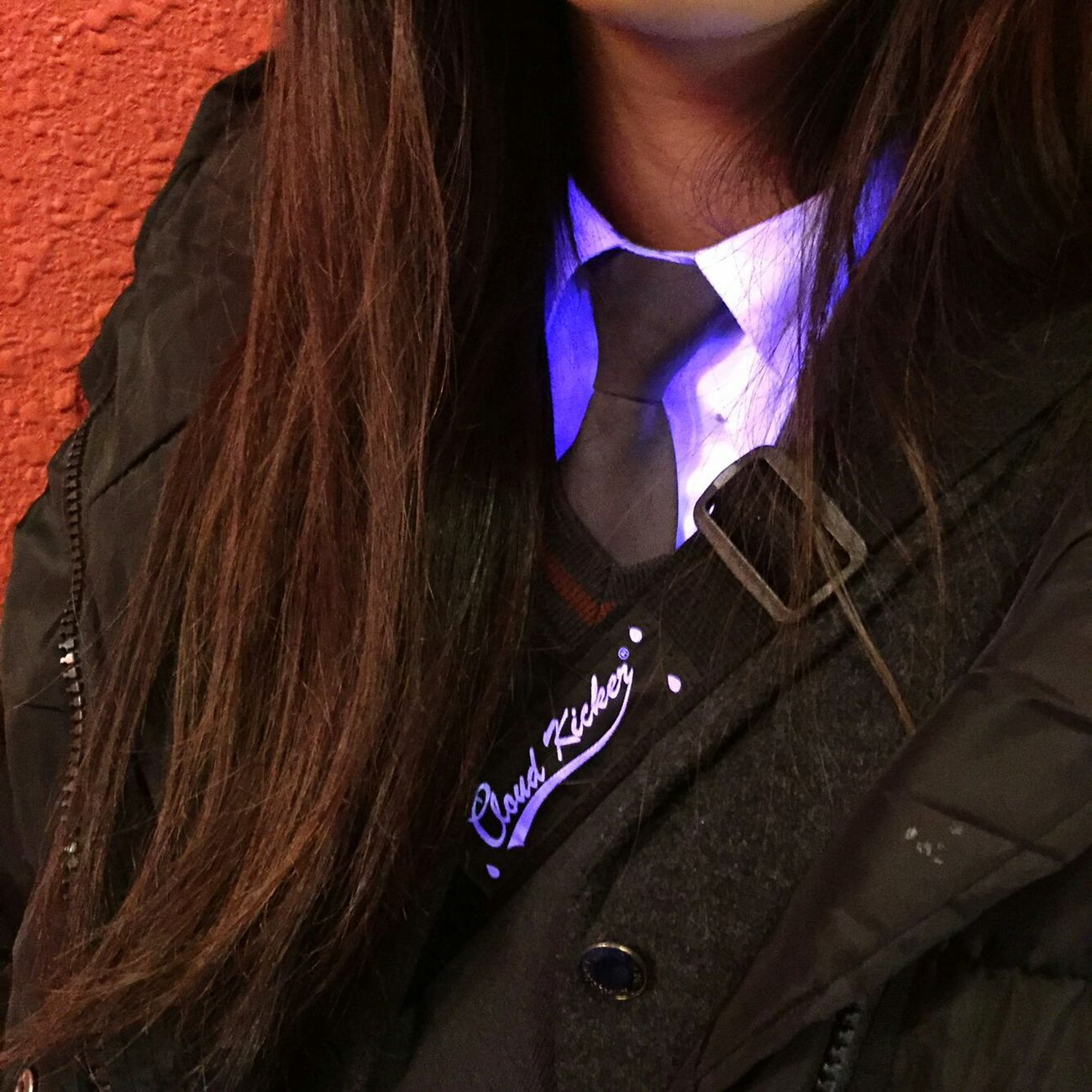 Bluelight School Uniform Tie Cool