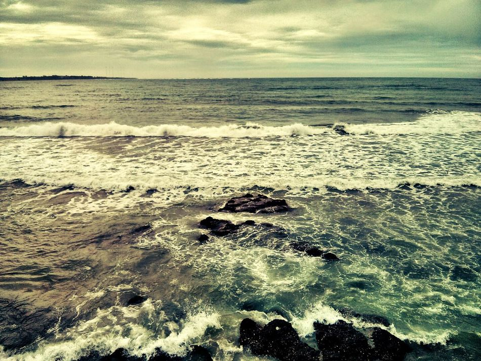 Crashing Waves. Beach Beauty In Nature EyeEm EyeEm Nature Lover EyeEmNewHere Horizon Over Water Launion Nature Outdoors Philippines Scenics Sea Surf Tranquil Scene Tranquility Travel Travel Destinations Travel Photography Water Wave EyeEmNewHere