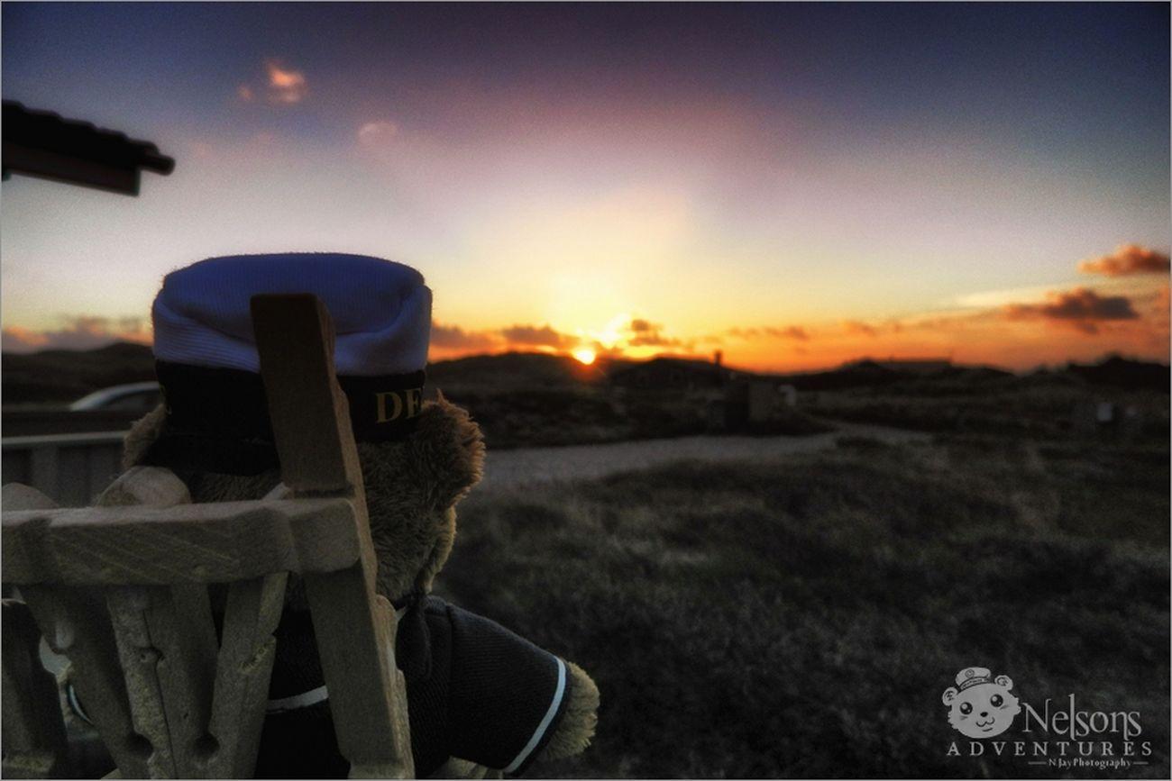 2012: Nelson watches the sunrise NelsonsAdventures Sunrise Landscape Denmark