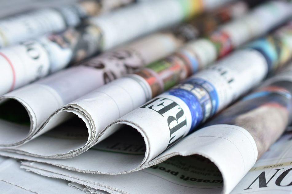 Beautiful stock photos of newspaper,  Choice,  Close-Up,  Day,  Folded