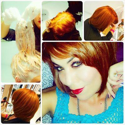 New Look New_style Hairstyle Heek hair_cut honey colour hair salon love_it ♡