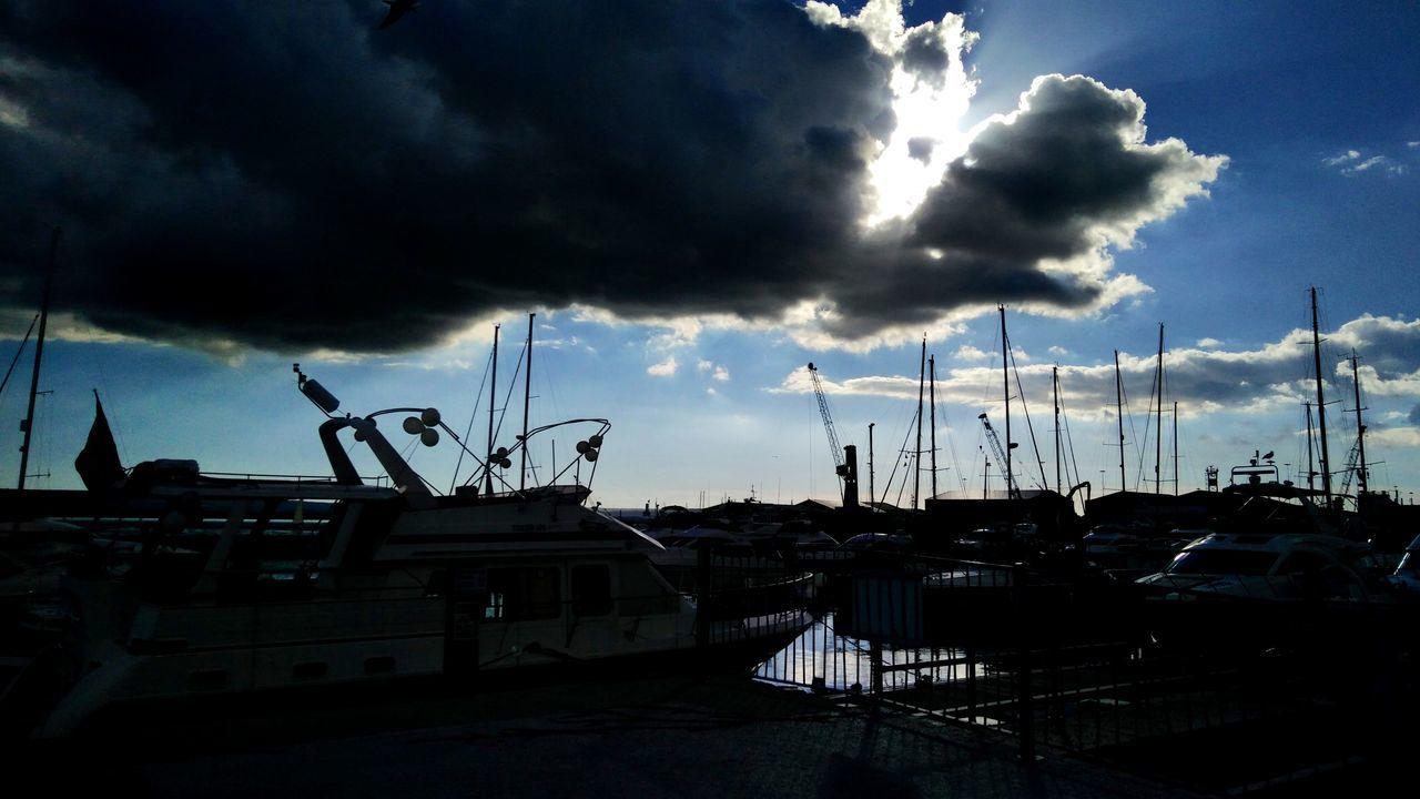 Harbor Sky Storm Cloud Cloud - Sky Dramatic Sky Outdoors Nature Scenics Greatbritain United Kingdom Beauty In Nature Pooleharbour Poole Quay Poole