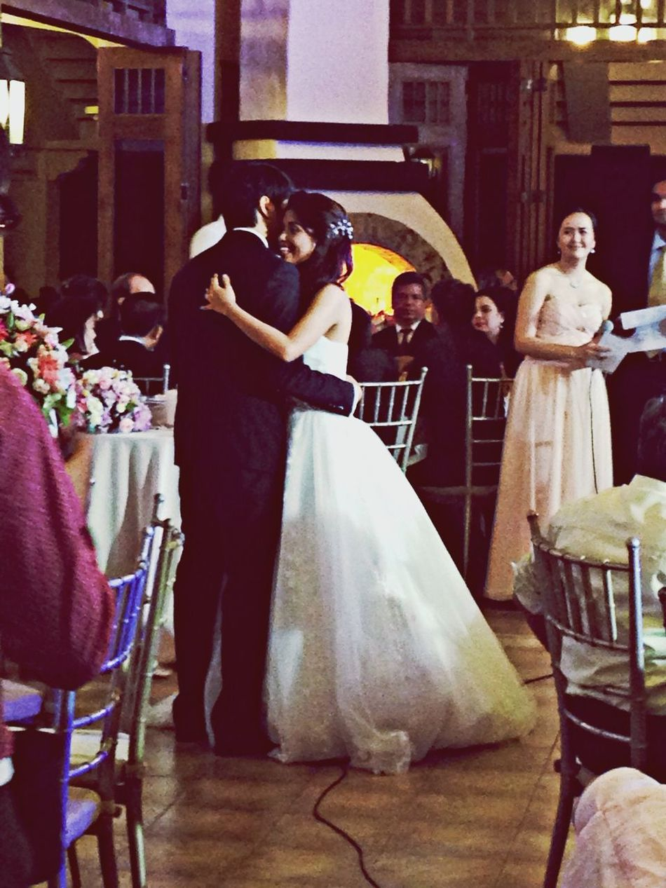 Gigi and Dan's first dance as a married couple. DanGer2014