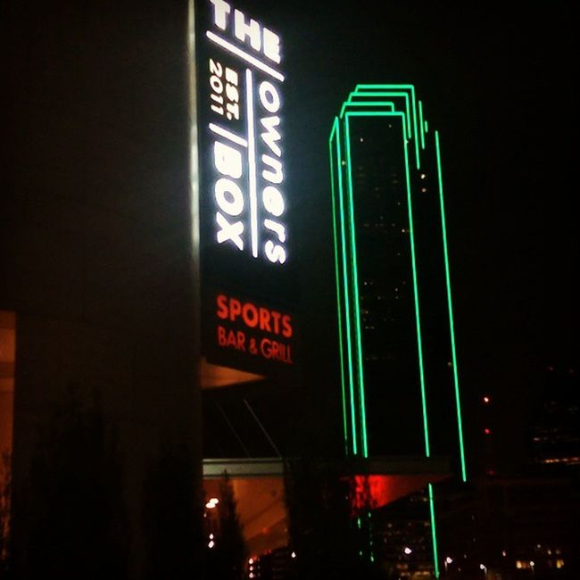Hungout at the OwnersBox Sports bar at the Omni Hotel till 3:00am this Weekend in Downtown Dallas