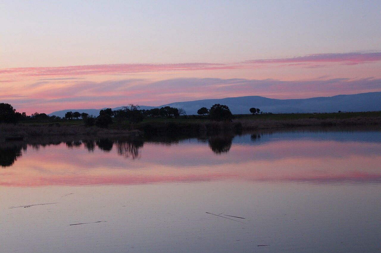 EyeEmNewHere Reflection Sunset Nature Extremadura Live For The Story