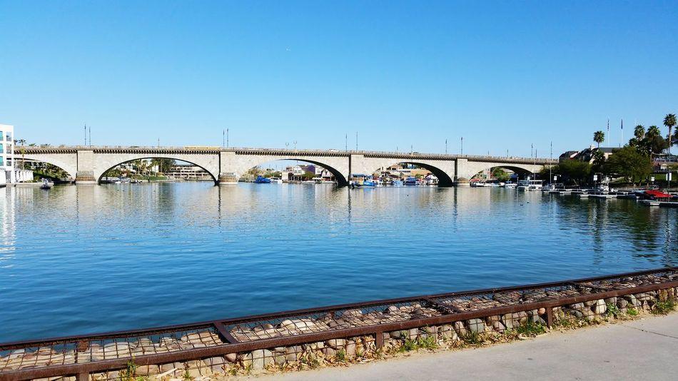 Londen Bridge in Lakehavasu Arizona.