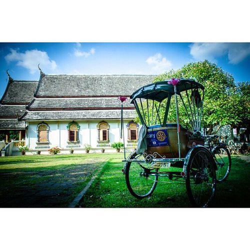 Thetrippacker Lanna Cnx Chiangmai Temple เชียงใหม่ วัด ล้านนา วัดเชียงมั่น วัดแรกของเชียงใหม่ รถสามล้อ สามล้อถีบ