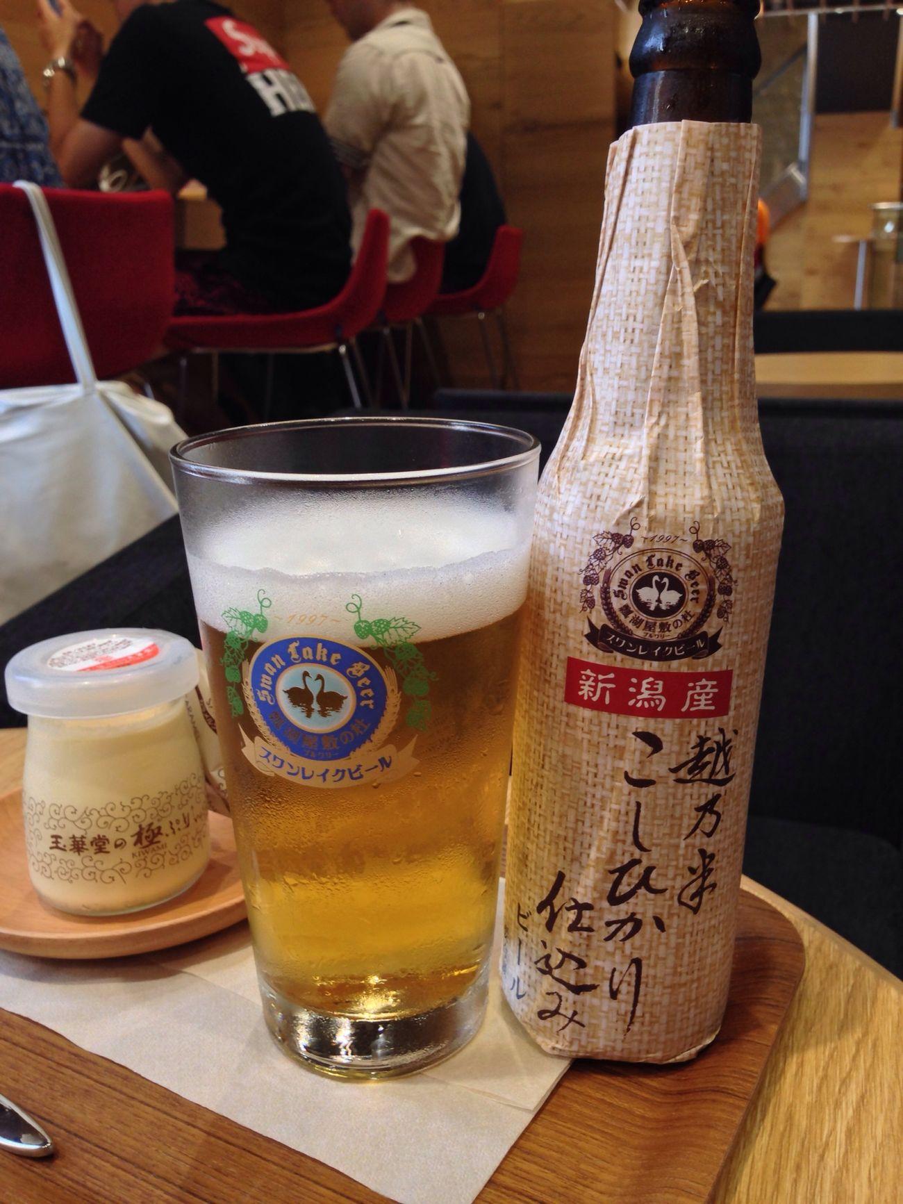 楽天カフェ 渋谷 ビール プリン