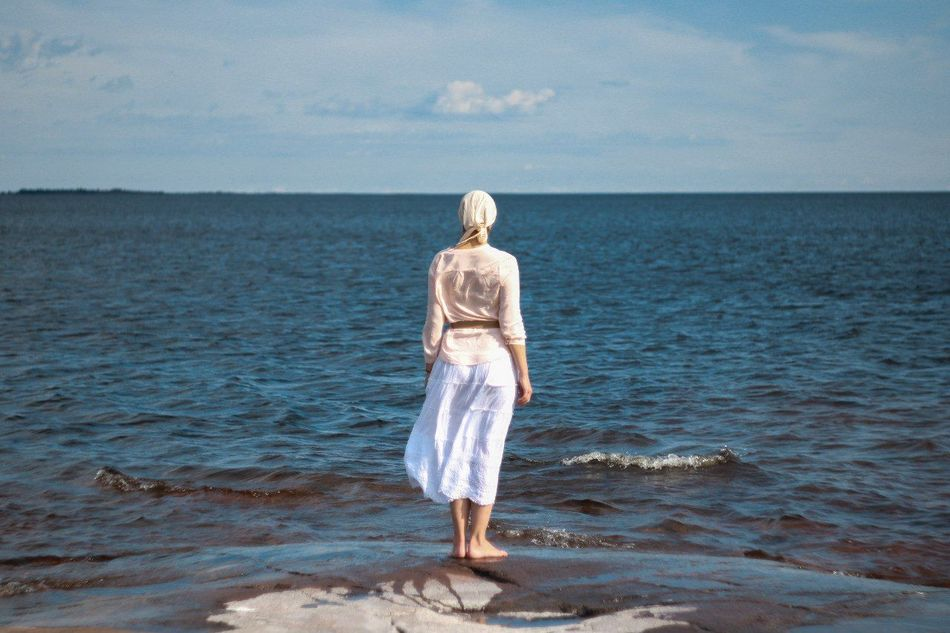 Beautiful stock photos of russia, Contemplation, beauty In Nature, blonde Hair, cap