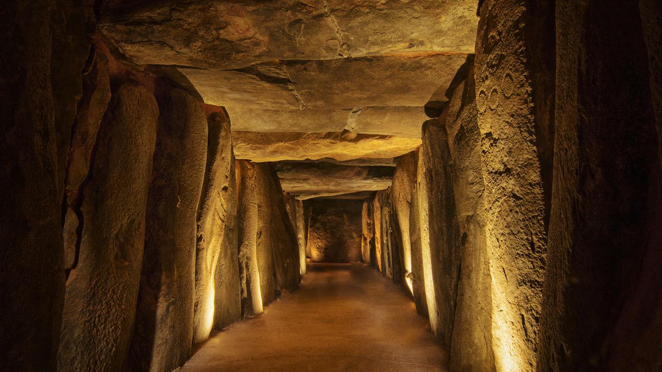 Architectural Column Architecture Beauty In Nature Cave Dolmen De Soto History Trigueros
