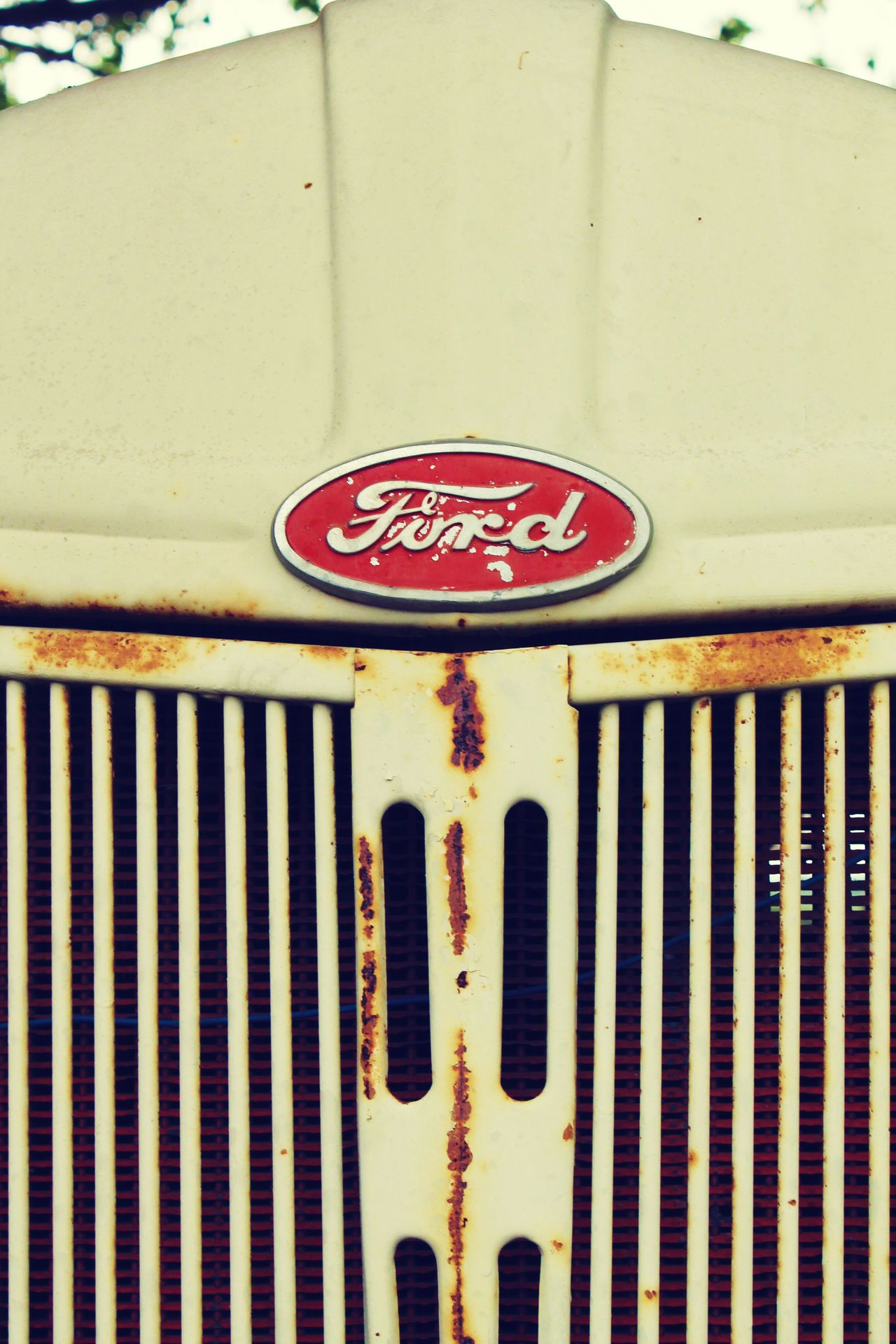 Classic Ford. Ford Automotive Tractor Classic Vintage Rust Vehicle American