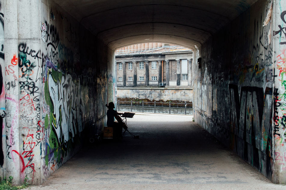 Beautiful stock photos of graffiti, Architecture, Berlin, Built Structure, Day