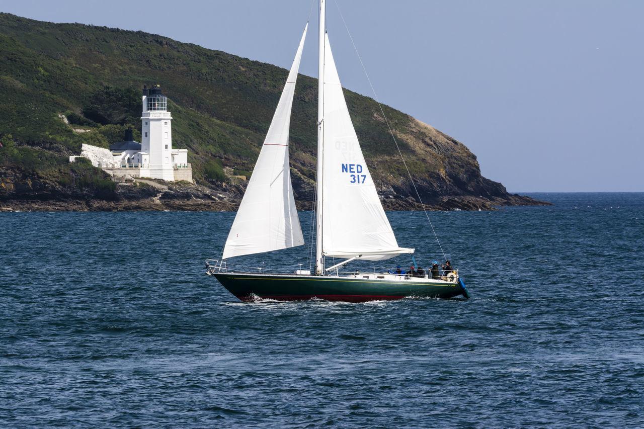 Beautiful stock photos of leinwand, water, sea, nautical vessel, sailboat