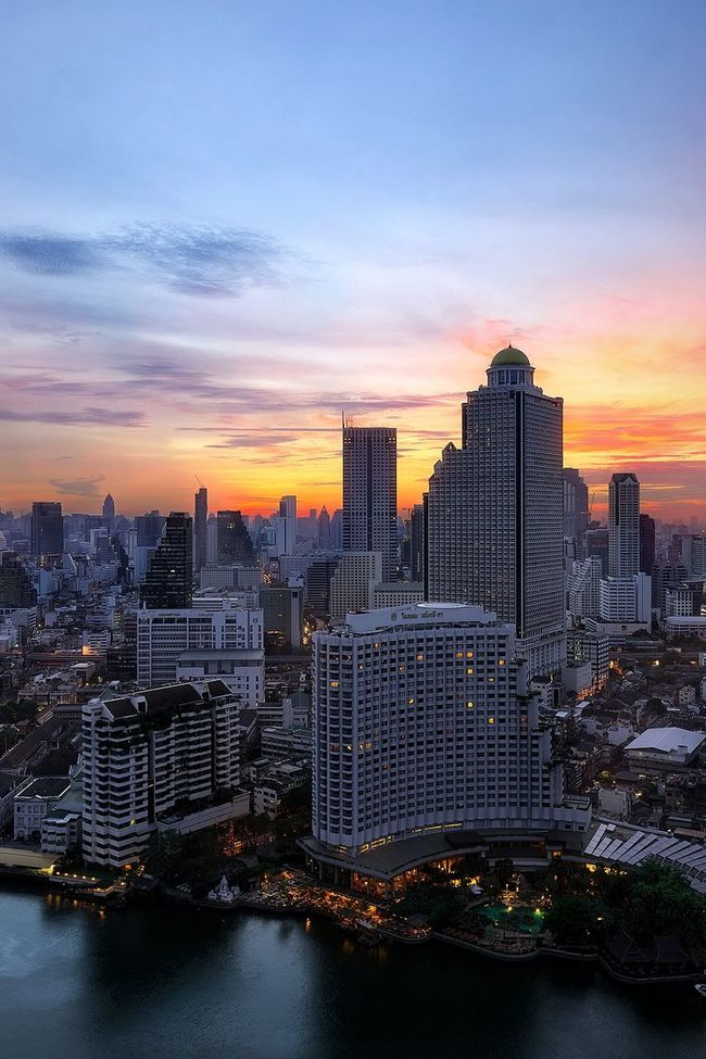 Aerial Shot City Travel EyeEm Best Edits EyeEmBestPics EyeEm Best Shots Travel Photography Sunset Cityscapes Landscape_Collection Urban Landscape Bangkok Bangkok Thailand. Thailand ASIA