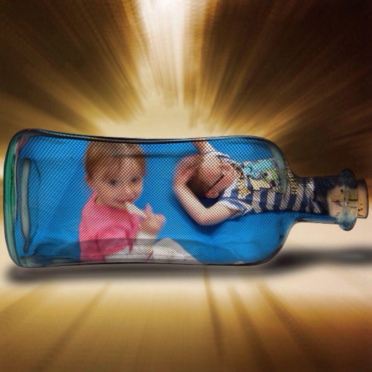 my bottle of love Enjoying Life Hello World Great Nephew My Great Niece