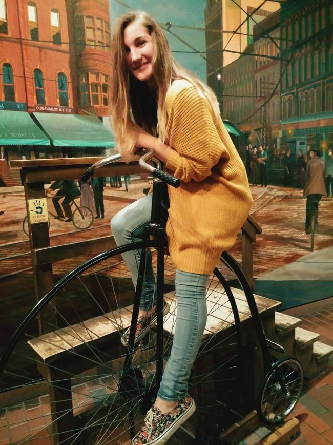 Being Cultured Night At The Museum Hanging Out Bike Cute