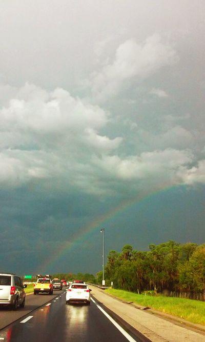 Florida Orlando Florida Orlando Shooting Orlando, Florida- Disney Orlandostrong Orlando Strong . Pride2016 Dark Sky Dark Skies Rolling In Rain Rainbow🌈 Rainbow <3