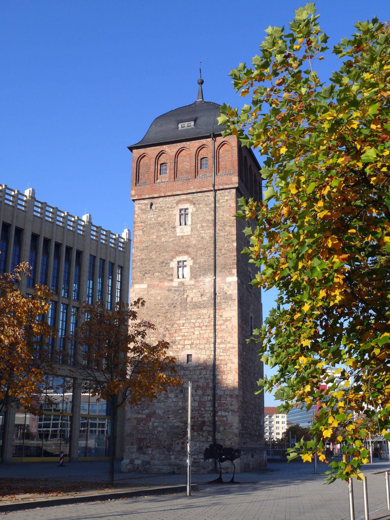 Chemnitz Chemnitz Roterturm Eastgermany Herbst Herbststimmung Landmarkbuildings Landmarktower Ostdeutschland Roter Turm Saxony Wahrzeichen