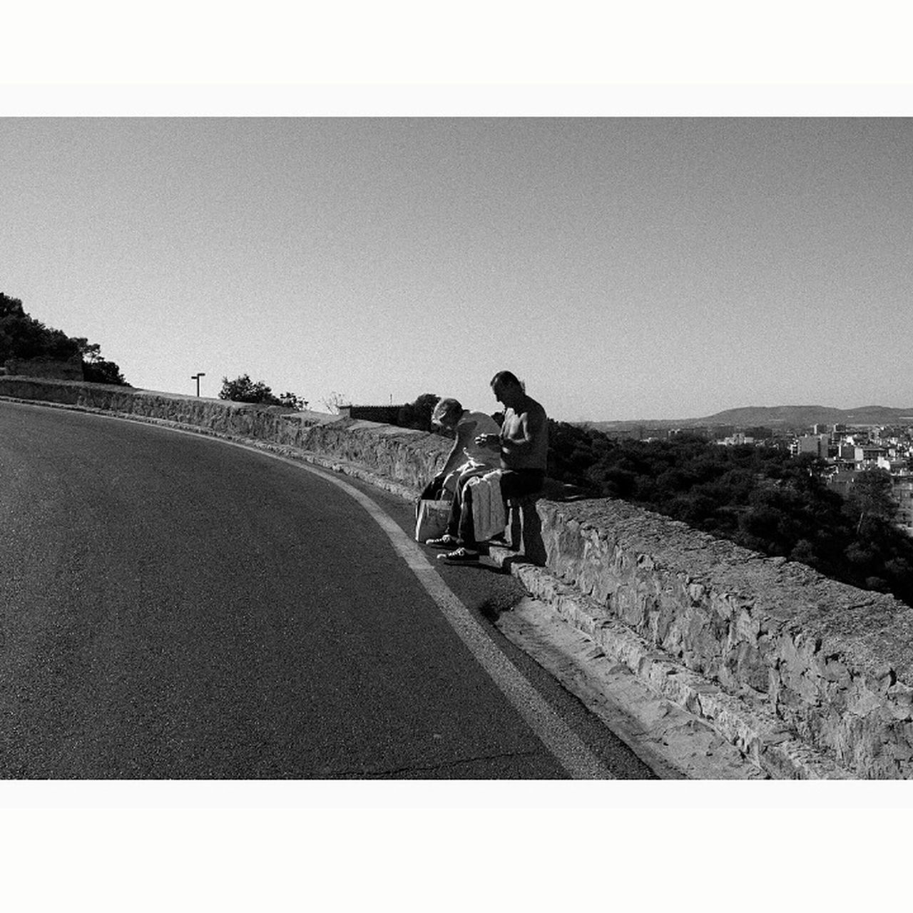 Alicante, Castillo. Alicante, Spain Castillo De Santa Bárbara Bicycle Riding Cycling One Person Mode Of Transport Transportation Land Vehicle Outdoors Full Length Motorcycle Rear View Real People One Man Only Day Men Only Men Road Sky People Adult