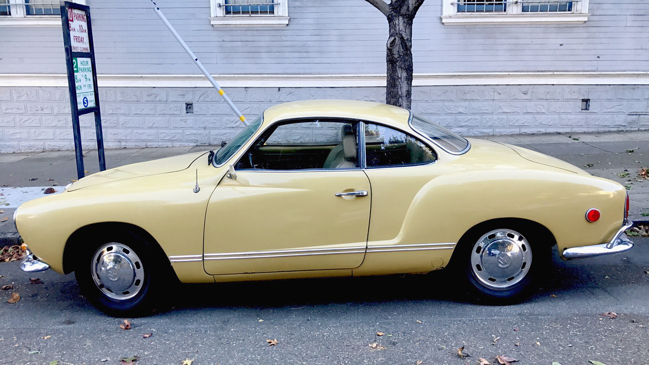 Karmann Ghia Car Stationary No People Koduckgirl Classic Car IPhoneography