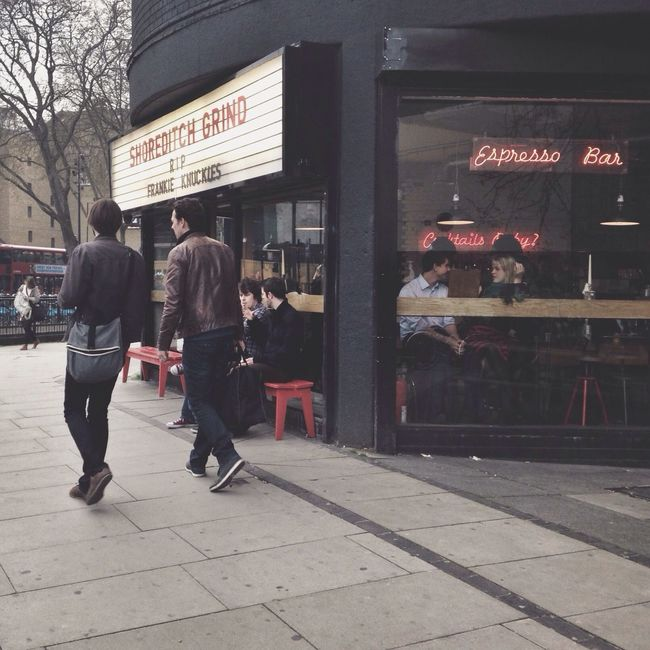 Independent Coffee Culture Shoreditch Hip London