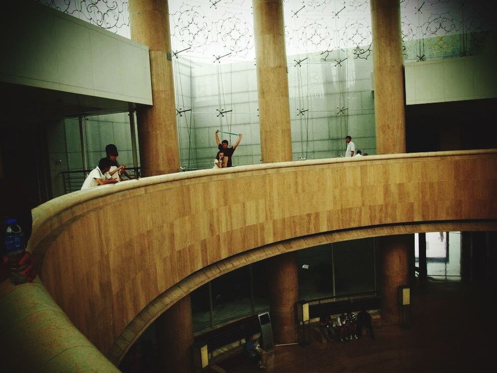 Architecture Architectural Column Indoors  People China Built Structure Day Lifestyles