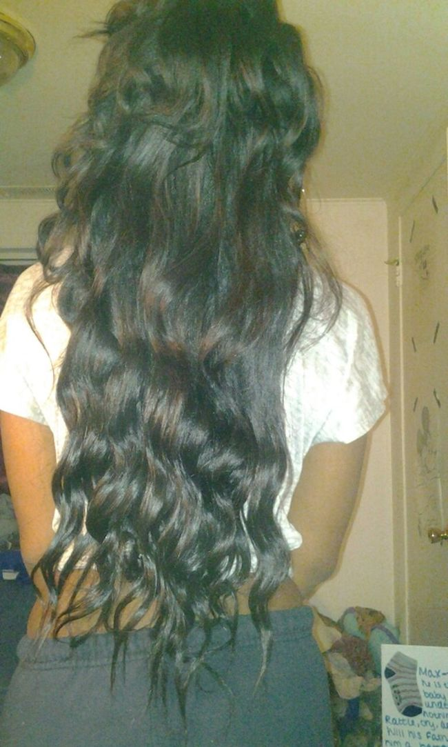 Curled My Hair This Morning ((: