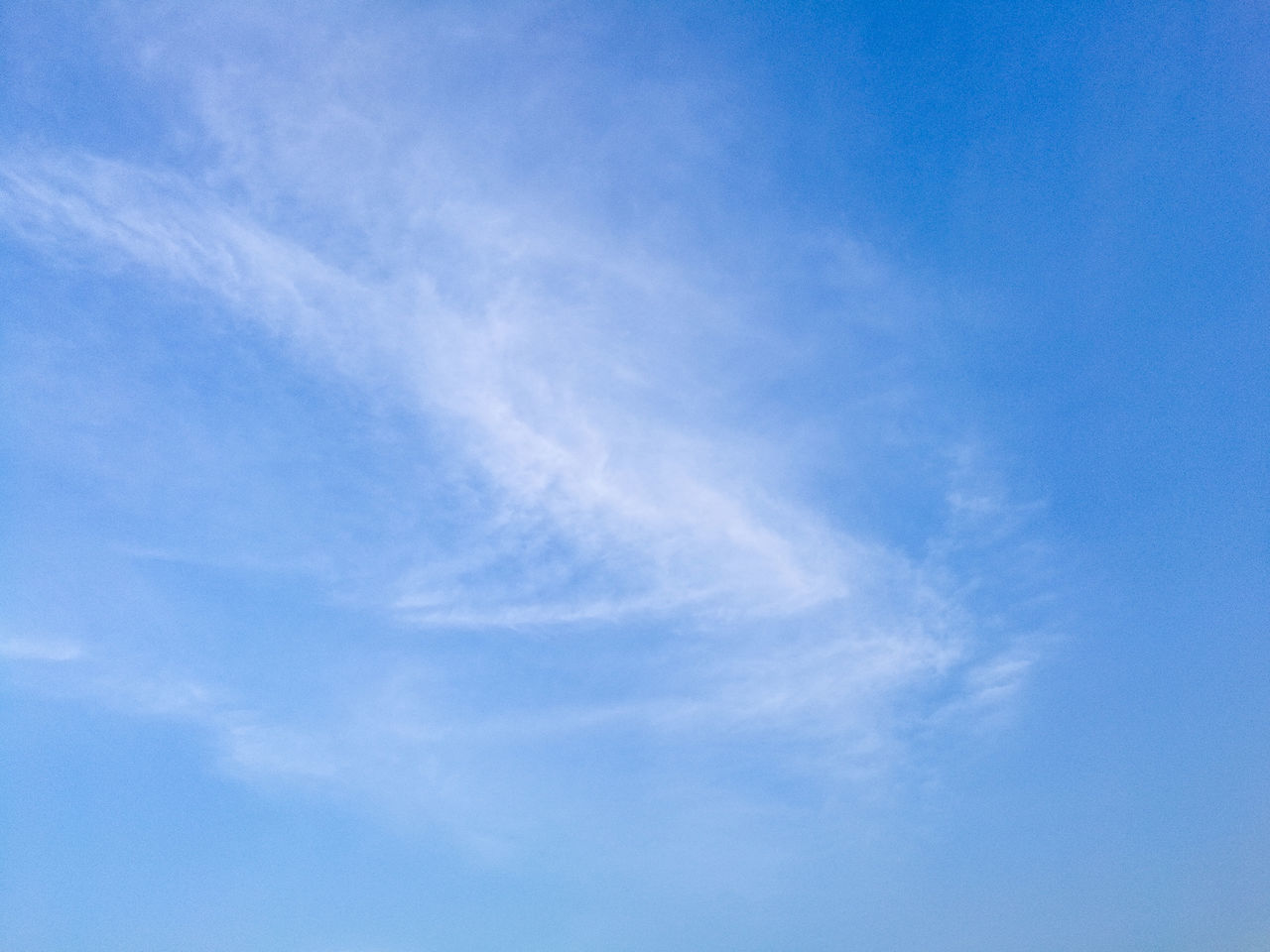 blue, low angle view, sky, beauty in nature, nature, backgrounds, sky only, day, no people, scenics, tranquility, outdoors, cloud - sky, full frame
