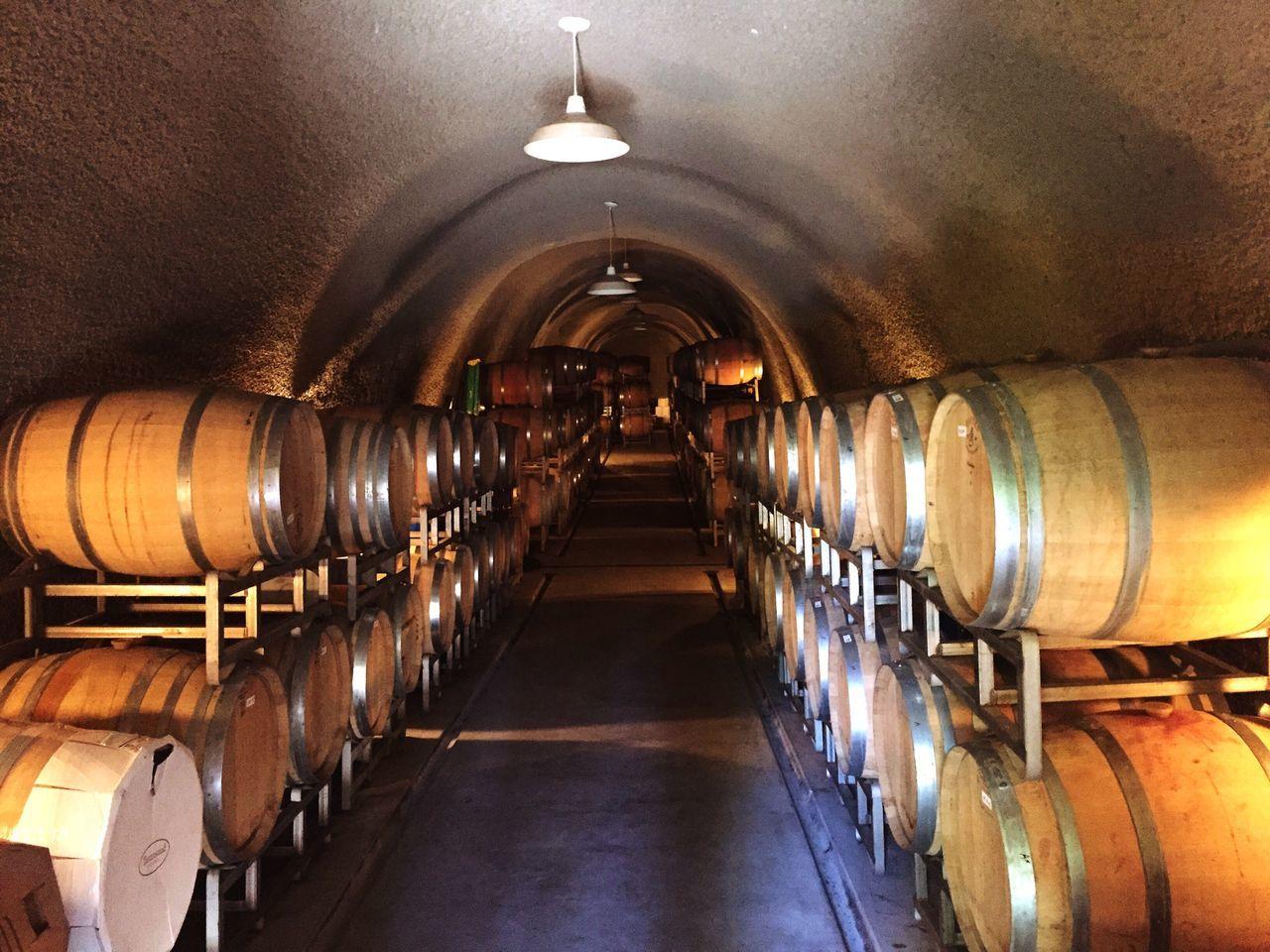 Ñapa Wine Wine Cellar Wine Barrels Cellar