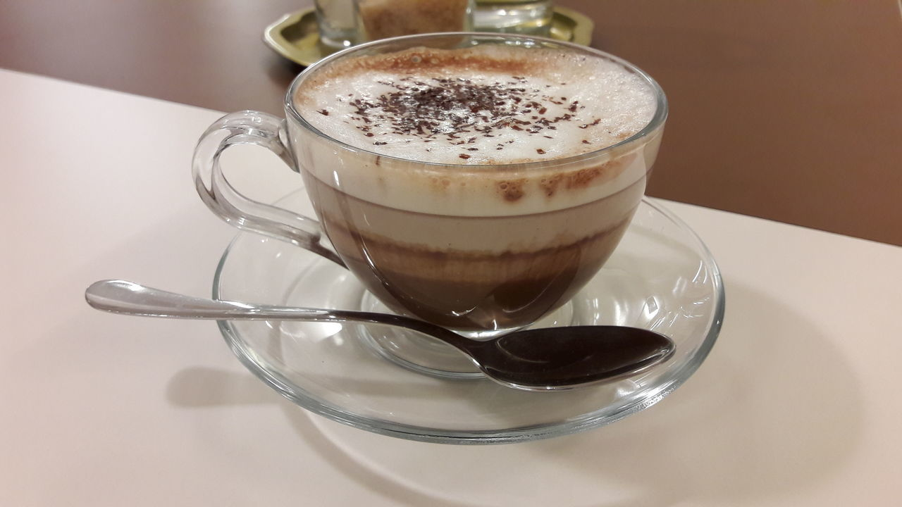 Hot Coffee - Drink Coffee Cup Cafe Table Coffee Break Espresso Cappuccino Freshness Drink hot chocholate Hot Chocolate ❤ Coffee ☕ Food And Drink Coffee Hot Chocolate Espresso Mocha Drinking Glass Hot Chocklate Coffee Time