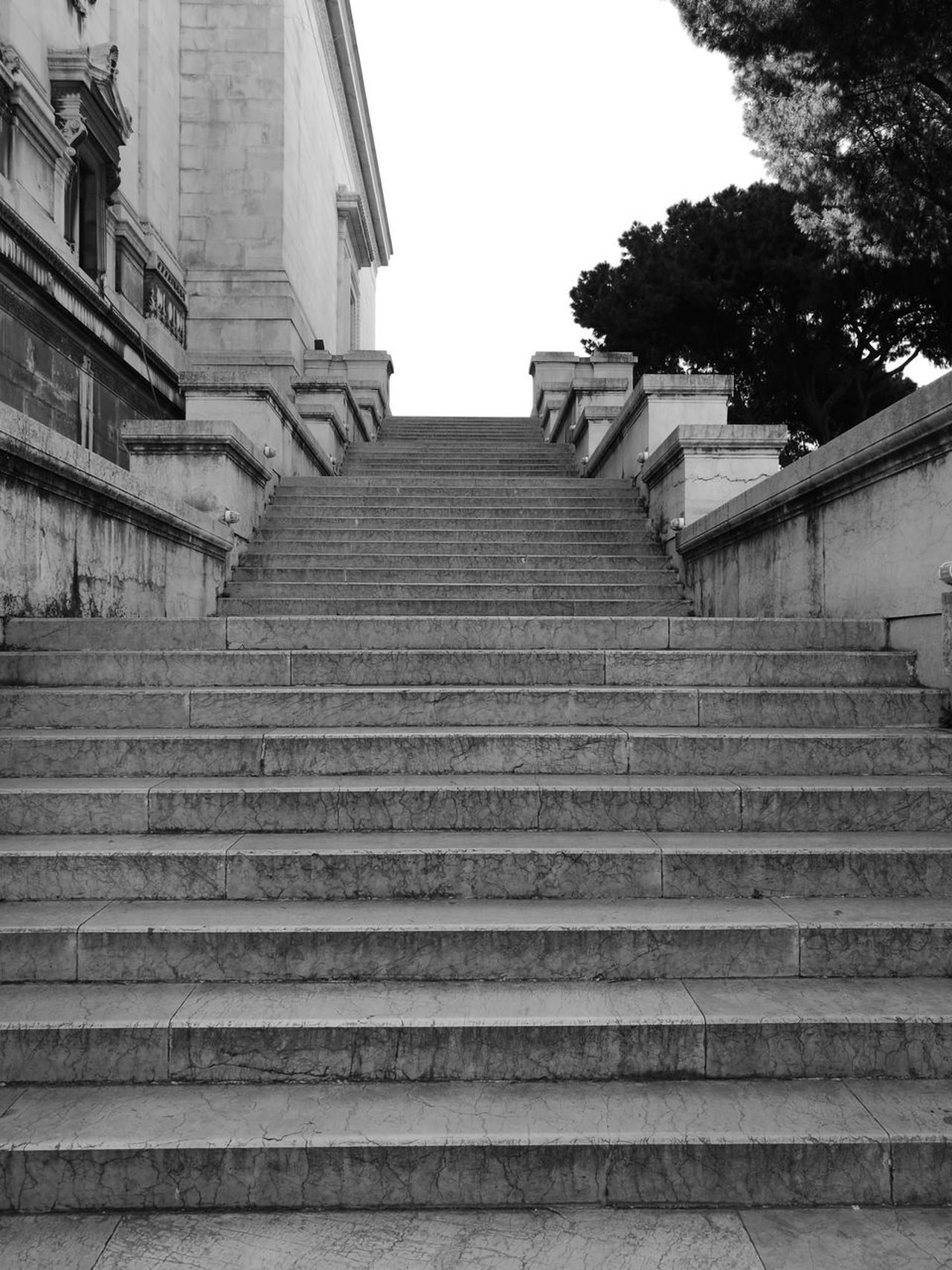 Steps Staircase Steps And Staircases Architecture Building Exterior No People Outdoors Leica Huawei P9 Huawei P9. Roma EyeEm Gallery Altare_della_patria Altare Della Patria Adults Only Rome Black And White Photography Blanco&negro