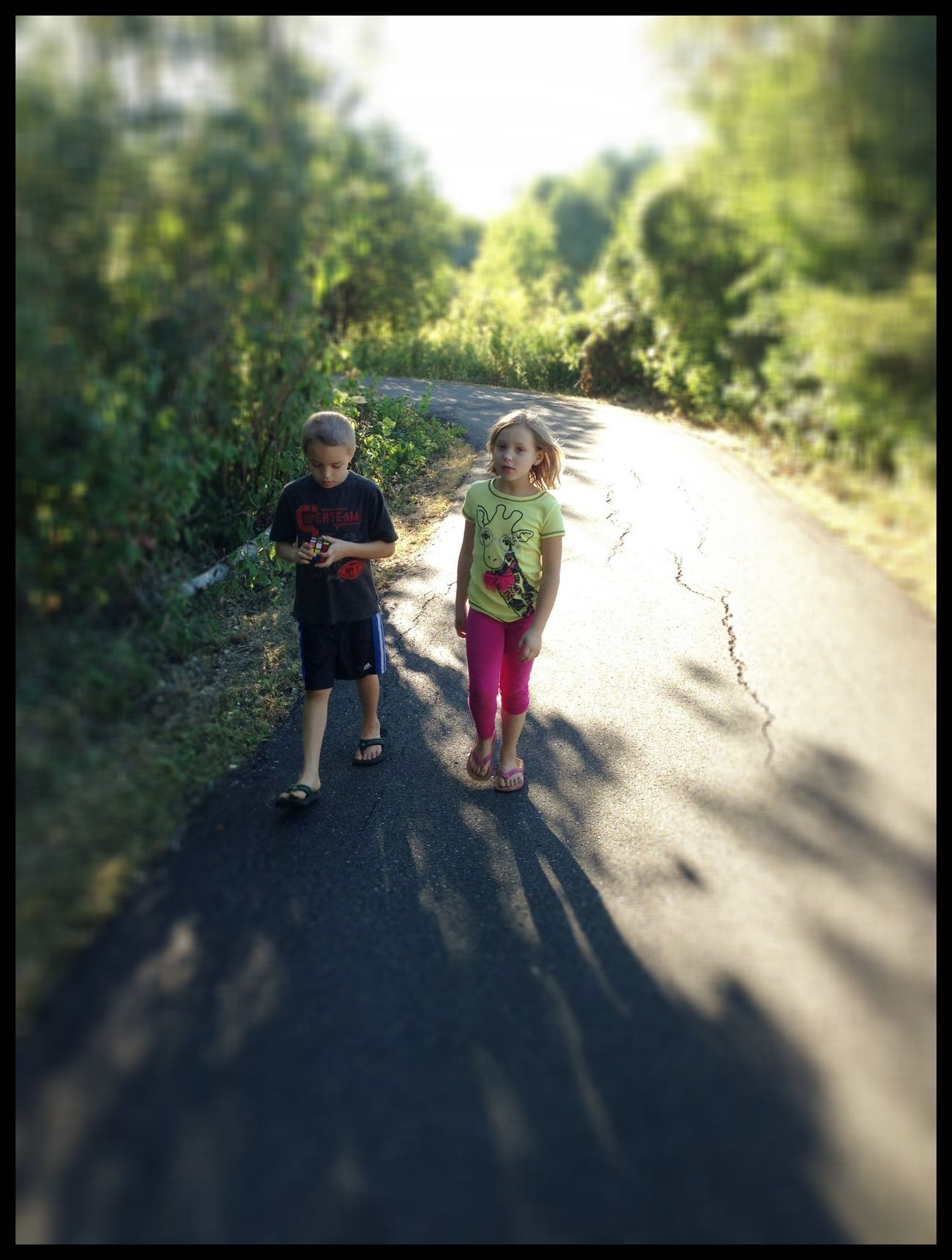 Walking Around Kids IPhoneography