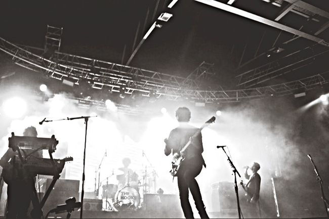 For The Love Of Music The Kooks Concert Live Music Band Smoke Performance Blackandwhite Blackandwhite Photography Bnw